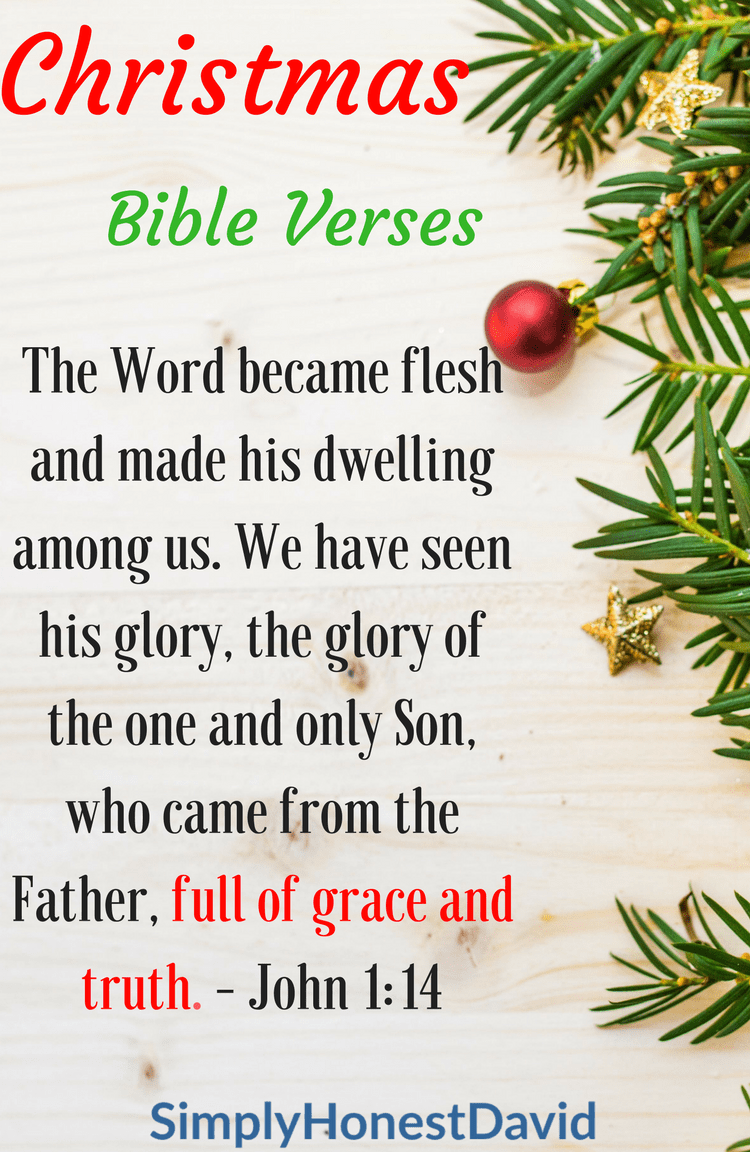 My Favorite Christmas Bible Verses | Inspirational sayings ...