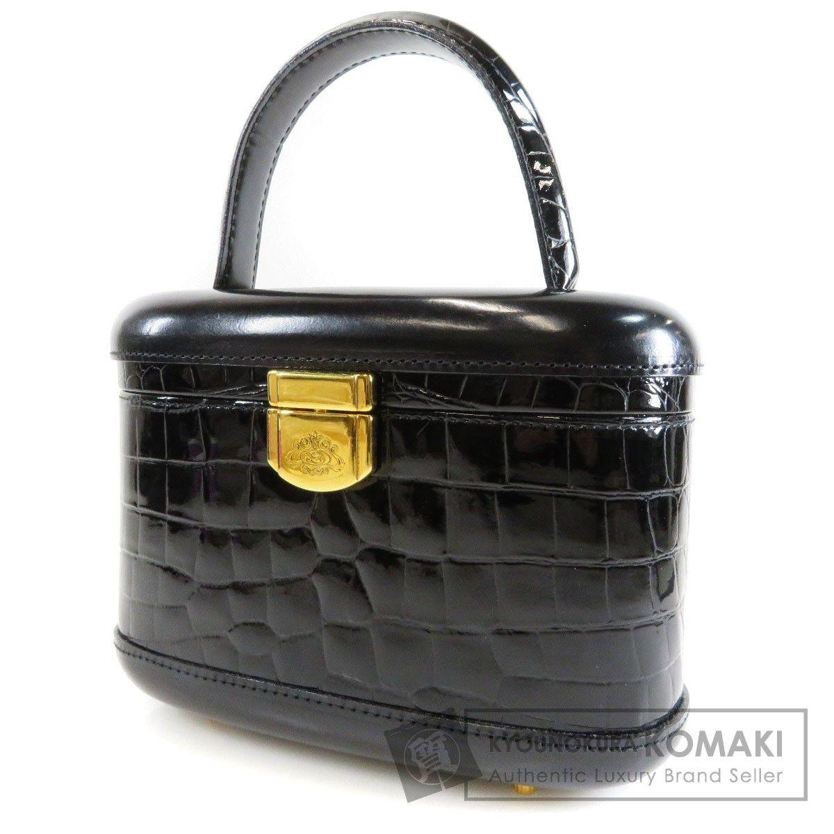 b69d739537 Kyonokura Komaki Brand Cheapest Challenger | Rakuten Global Market:  Authentic SELECT BAG BUCCHERI Handbag Patent leather