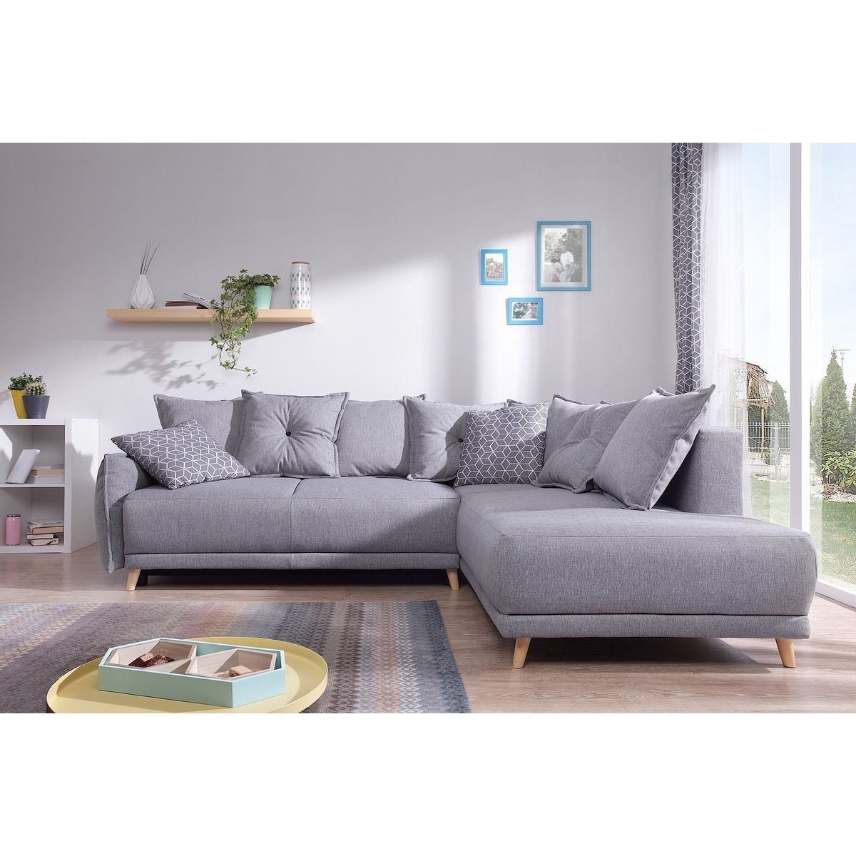Canape Scandinave D Angle Droit Lena Taille Angle Droit Canape Angle Gris Canape Angle Canape Bobochic