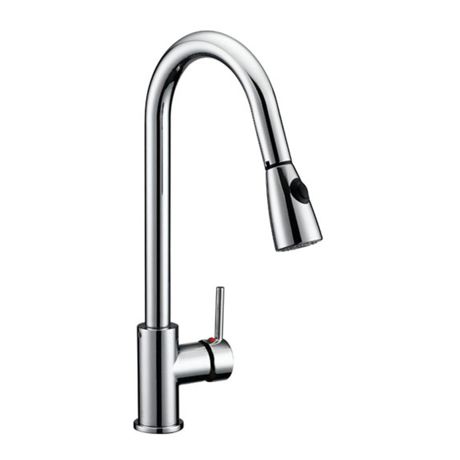 Design House Eastport Single Handle Pull Down Kitchen Faucet