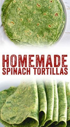 Spinach Tortillas images