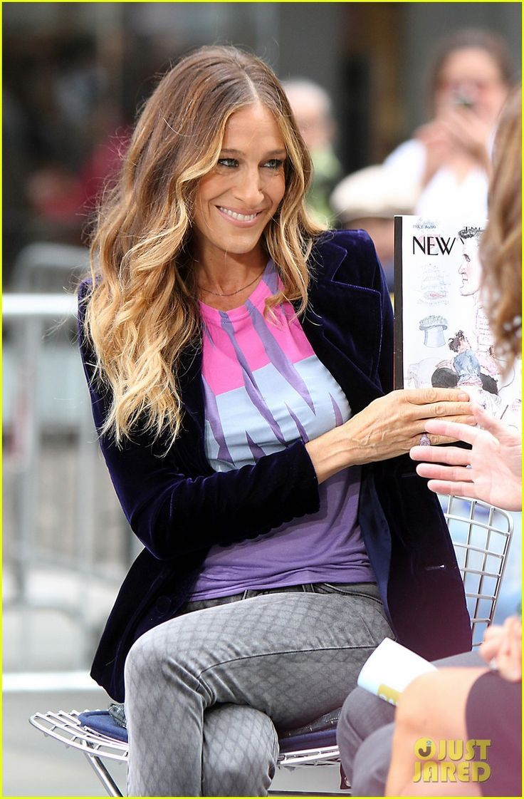 Sarah Jessica Parker. Love the ombre look. I've always ...