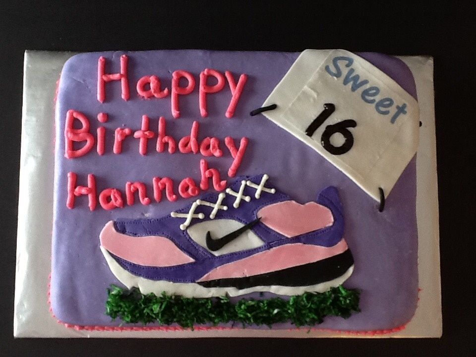 Running Or Cross Country Or Track Themed Cake By Posh Parties By