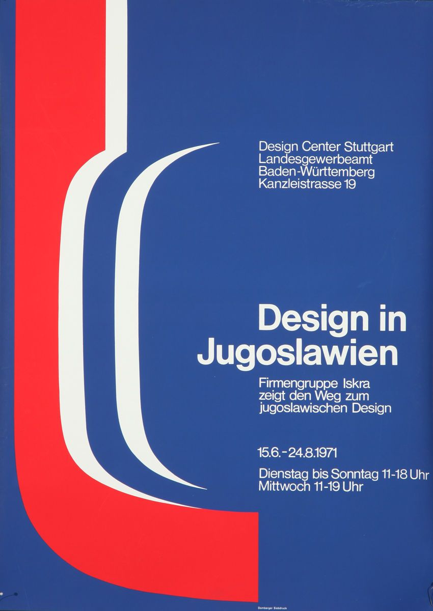 Vintage Poster Design 1971 Jugoslawien Yugoslavia Graphics Art Expo Red Vintage Poster Design Poster Design Vintage Posters