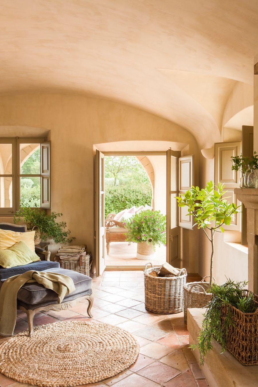 Arredamento Rustico Casa que la naturaleza entre en casa | arredamento rustico di