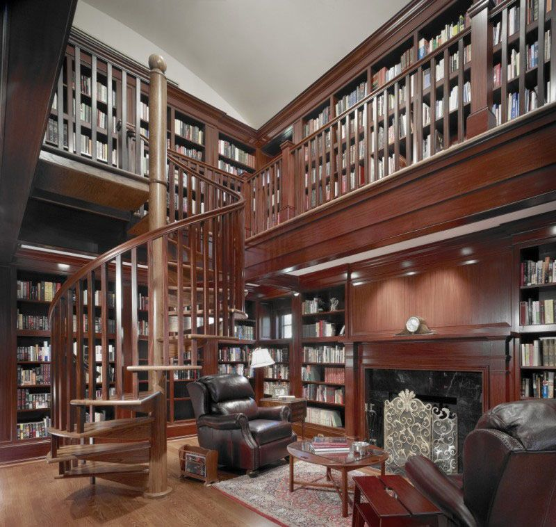30 classic home library design ideas imposing style http for Home library ideas design