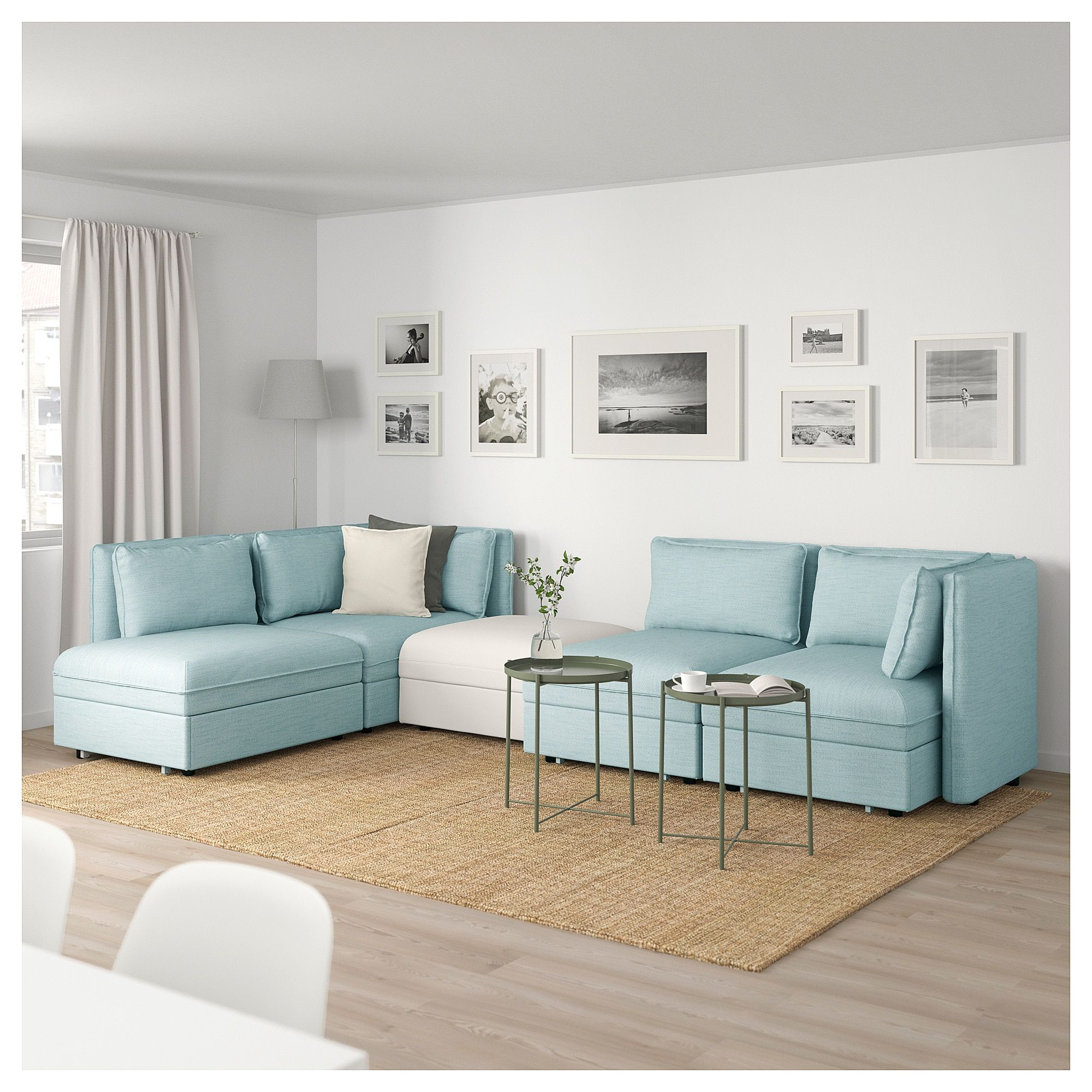 Vallentuna 4 Seat Modular Sofa With 3 Beds Ikea Vallentuna Mod Sofa 4 Seat W 3 Slpr Sections And Storage