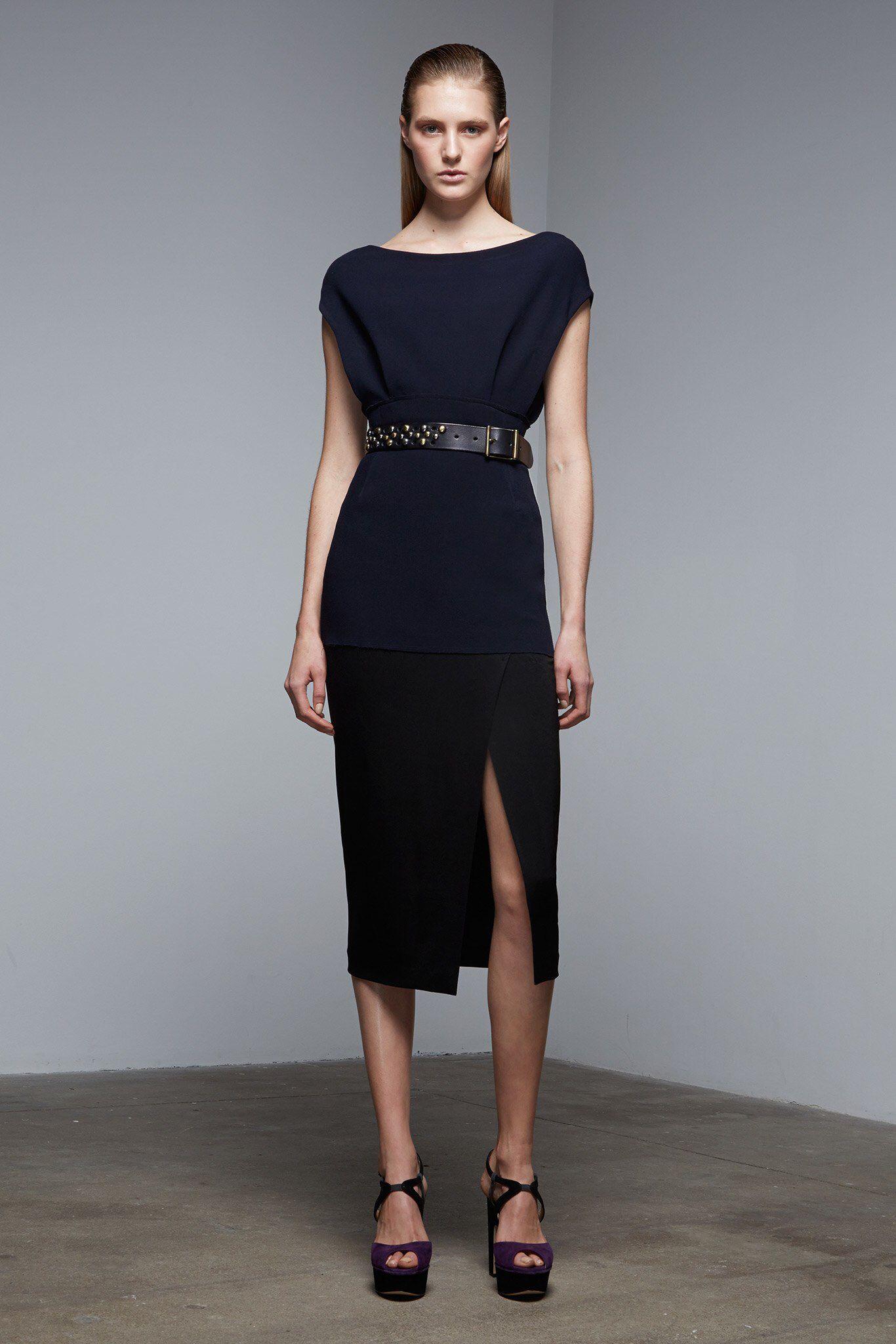 d63fe5ab59d6 Donna Karan Pre-Fall 2015 Fashion Show Collection: See the complete Donna  Karan Pre