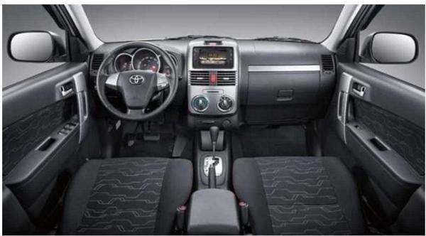 2018 Toyota Rush Interior With Images Toyota Wellness Design