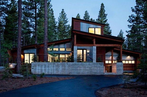 25 Amazing Mountain Houses Mountain Home Exterior Modern Prefab