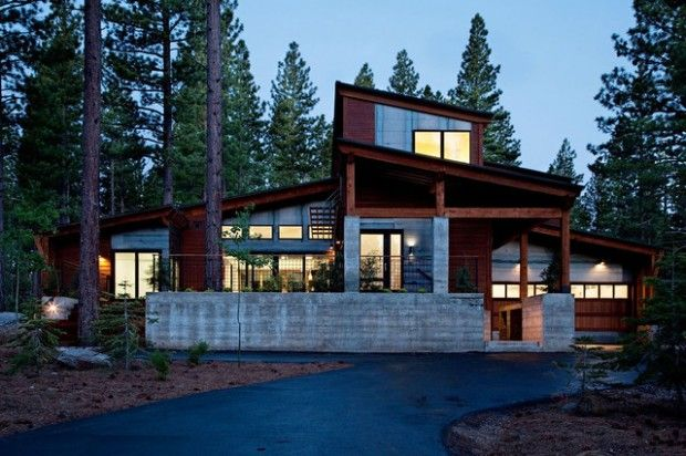 25 Amazing Mountain Houses Mountain Home Exterior House Designs Exterior Prefabricated Houses