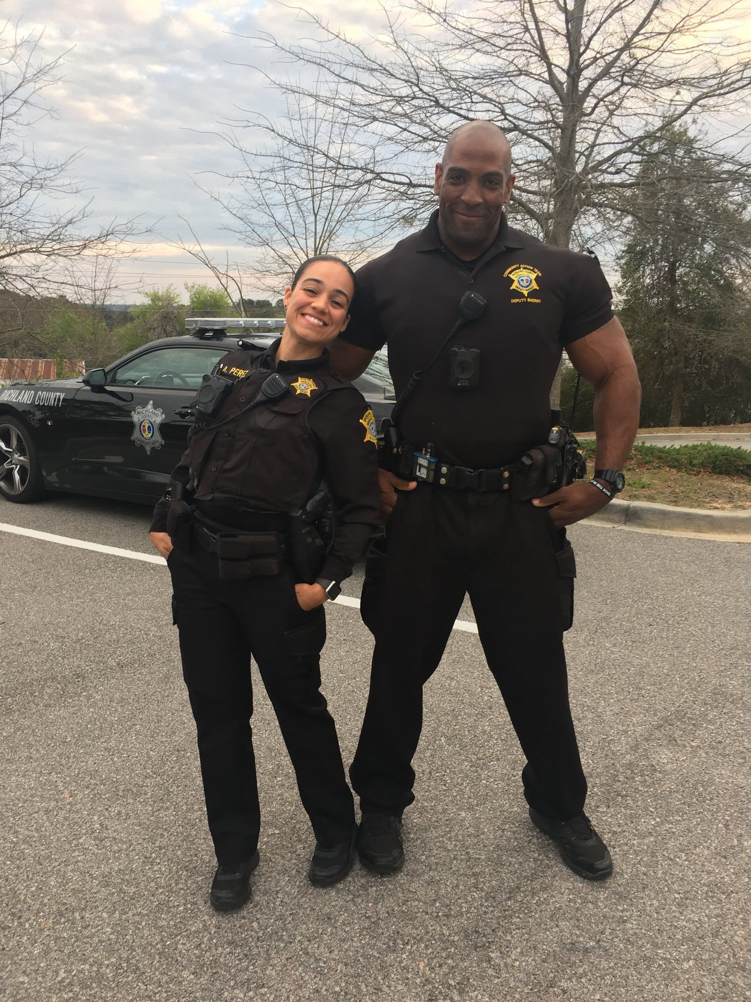 Dep Addy Perez and Dep  Garo Brown | Live PD | Cop uniform