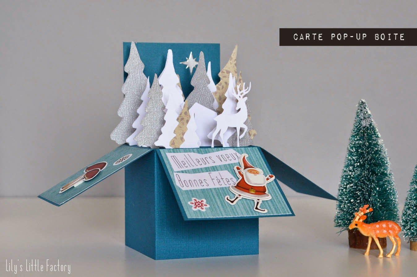 Meilleurs Vœux Une Carte Pop Up Boite Lily S Little Factory