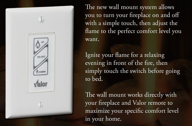 Optional Valor Wall Mount Switch With Images Valor Fireplaces