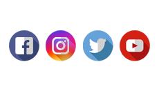 نتيجة بحث الصور عن Facebook Twitter Instagram Snapchat Logo Facebook And Instagram Logo Social Media Marketing Courses Instagram Logo