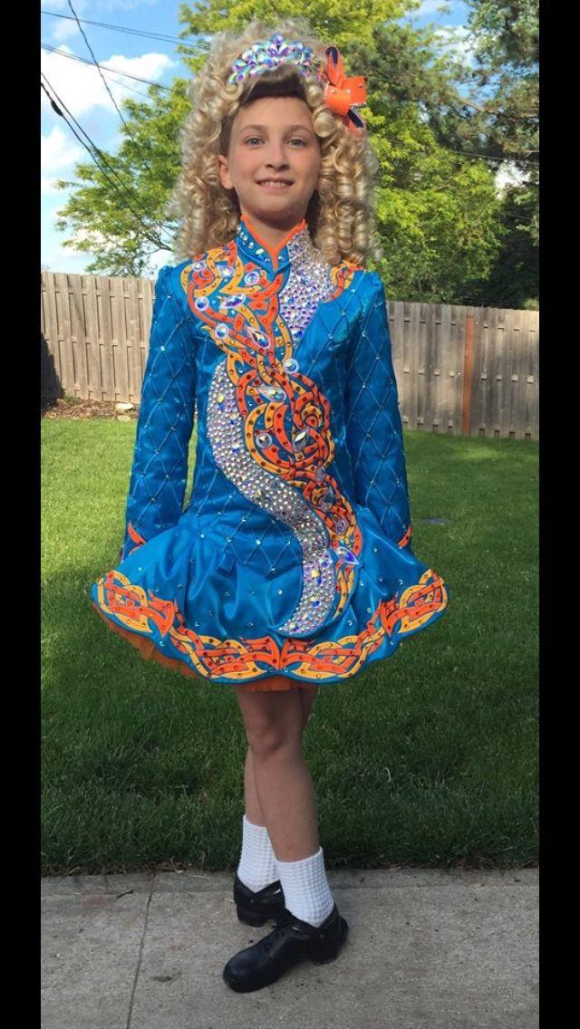 **Rising Star**Irish Dance Solo Dress Costume**