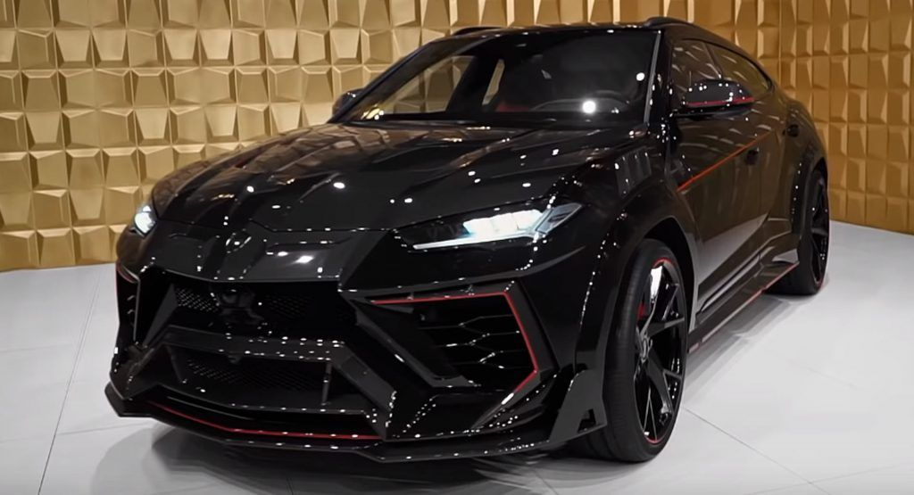 Mansorys Lamborghini Urus Venatus Is The SUV Batman Would Drive