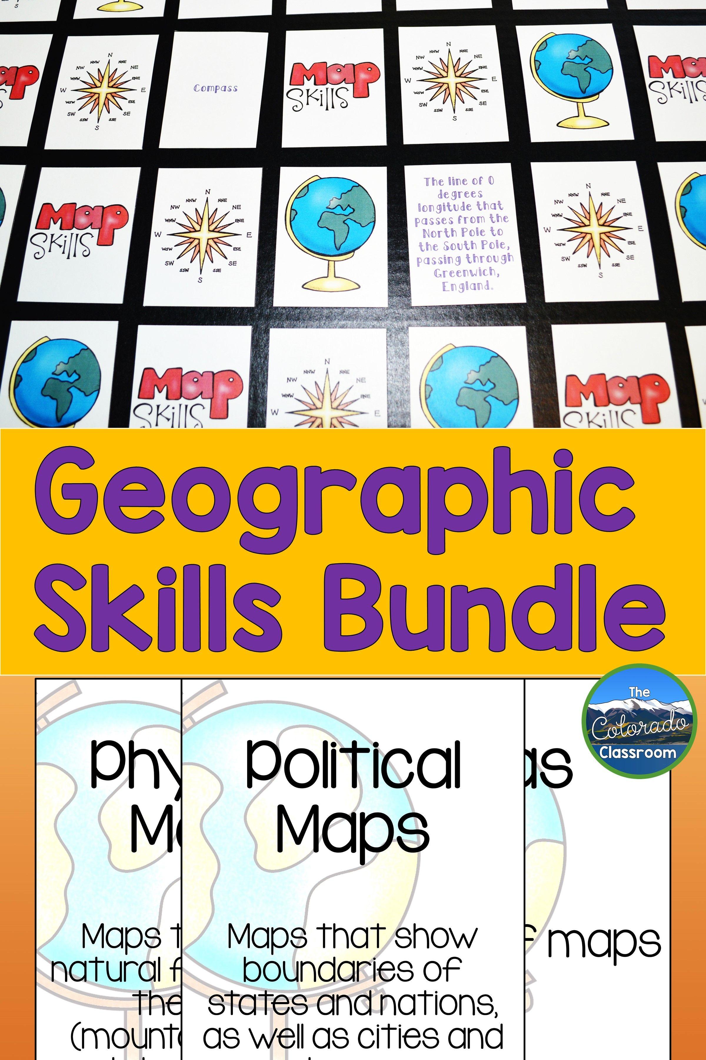 Geographic Skills Bundle