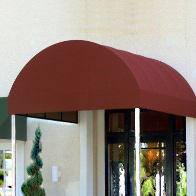 Awntech Beauty Mark Baltimore 8 X 6 X 10 Entrance Canopy By Awntech 1808 00 Chrome Plated Frame Is Sturdy A Canopy Architecture Patio Canopy Canopy Glass