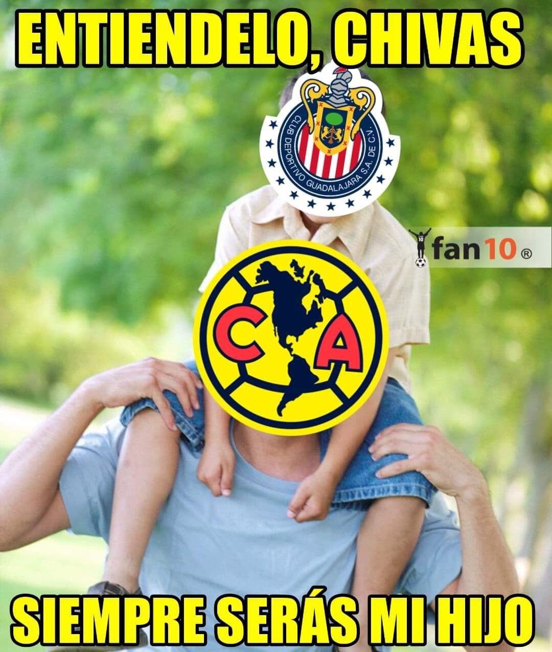 Memes De Chivas Buscar Con Google Club America America Club