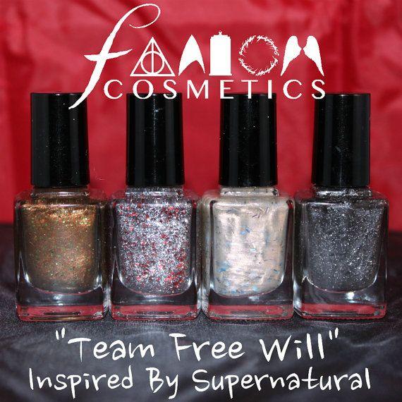 Team Free Will Supernatural Inspired Nail Polish by FandomCosmetics, $30.50