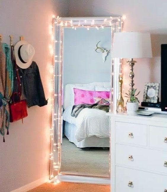 Cómo decorar mi habitación con guirnaldas de luces #lucesLED