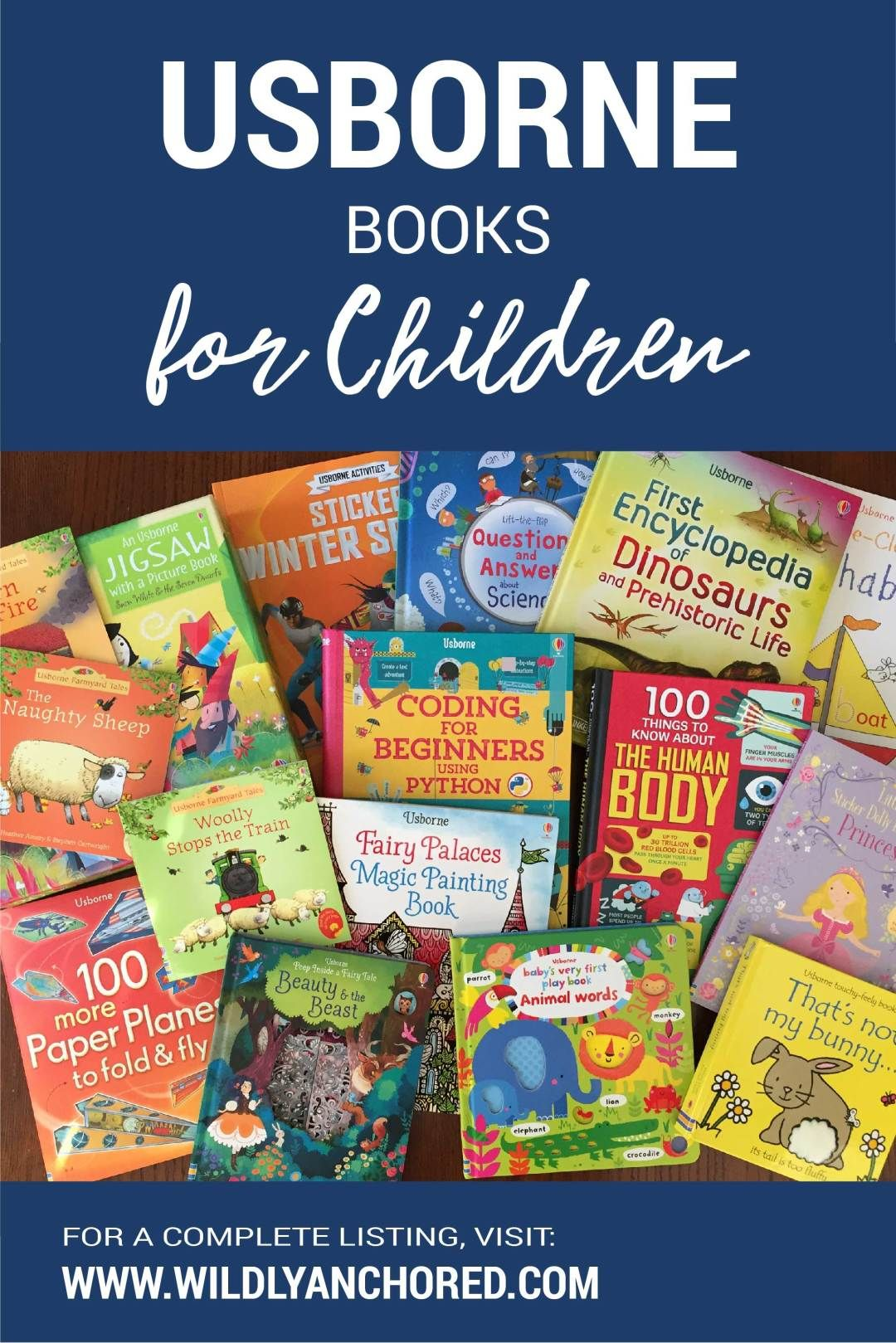 Usborne Books for Children Wildly Anchored // Faith
