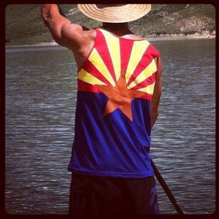 3df5f120f0bb Arizona flag custom sewn tank top by FrozenKiss on Etsy ...