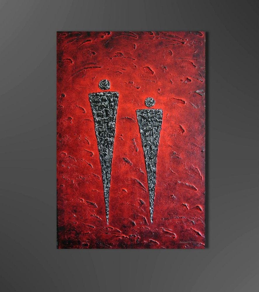 Kunstgalerie winkler abstrakte acrylbilder malerei leinwand unikat bilder neu ebay art - Vorlagen malerei ...