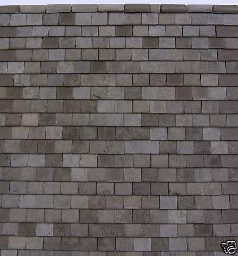 G Gauge 500 Garden Railway Grey Roof Tiles Only 14 99 Roof Tiles Tiles Price Slate Roof Tiles