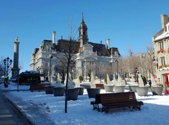 Winter Wonderland, Montreal, Canada