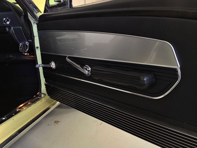 1967 Ford Mustang Custom Standard Door Panels Made By Burton Antique Auto Parts In Dayton Ohio