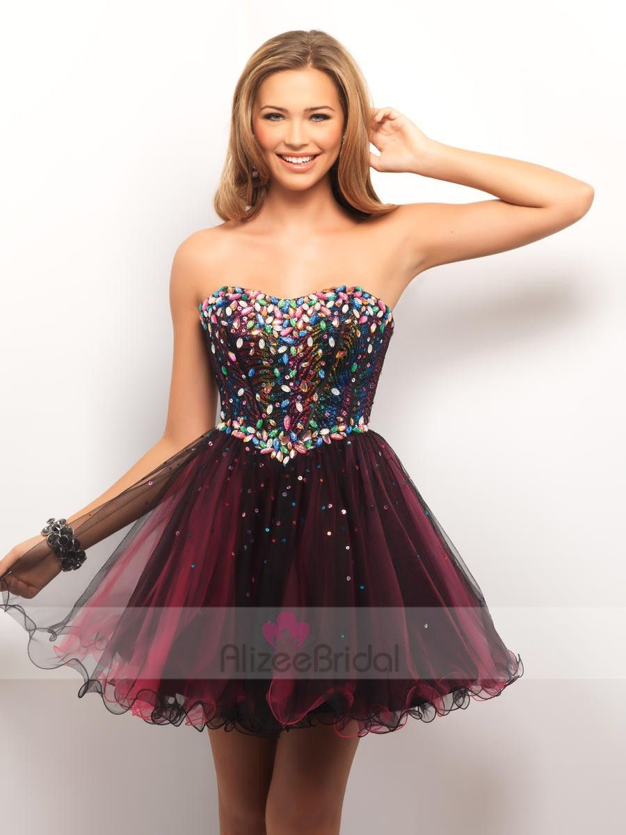 Goorgeous burgundy crystal dress love it prom dress or