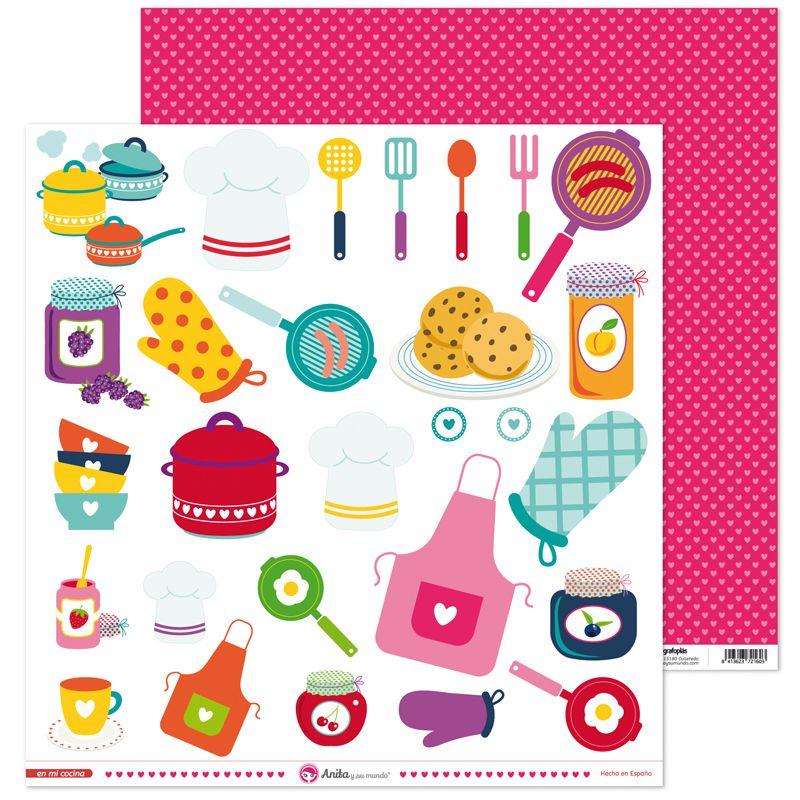 Nuestra nueva colecci n de scrapbooking en mi cocina for Disenar mi cocina online