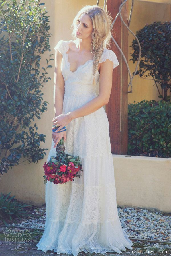 Vintage Lace Country Wedding Dress Re Re ... | Dream Country ...