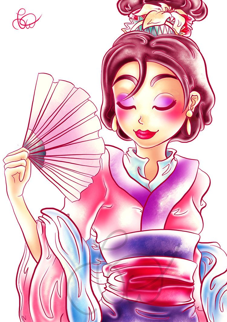 Day 19 - Mulan by Nohongo on DeviantArt