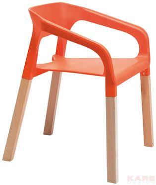 Stuhl Rack Orange Art Chair Orange Furniture Stylish Chairs
