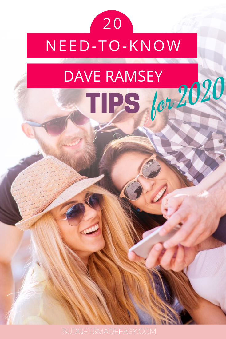 The 20 Best Dave Ramsey Tips to Makeover Your Money Today