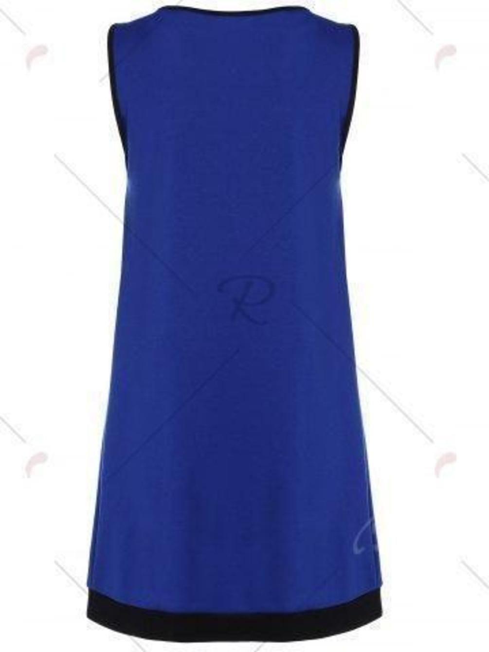 Bowknot Sleeveless A-Line Dress