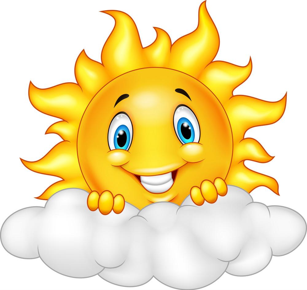 Sonne_Sun_lachend_01 | Cartoon clip art, Cartoon sun, Cartoon