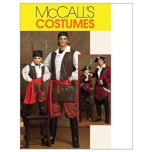 pirate costume pattern kids pirate costumesmens pirate costumehalloween - Halloween Costume Patterns For Kids