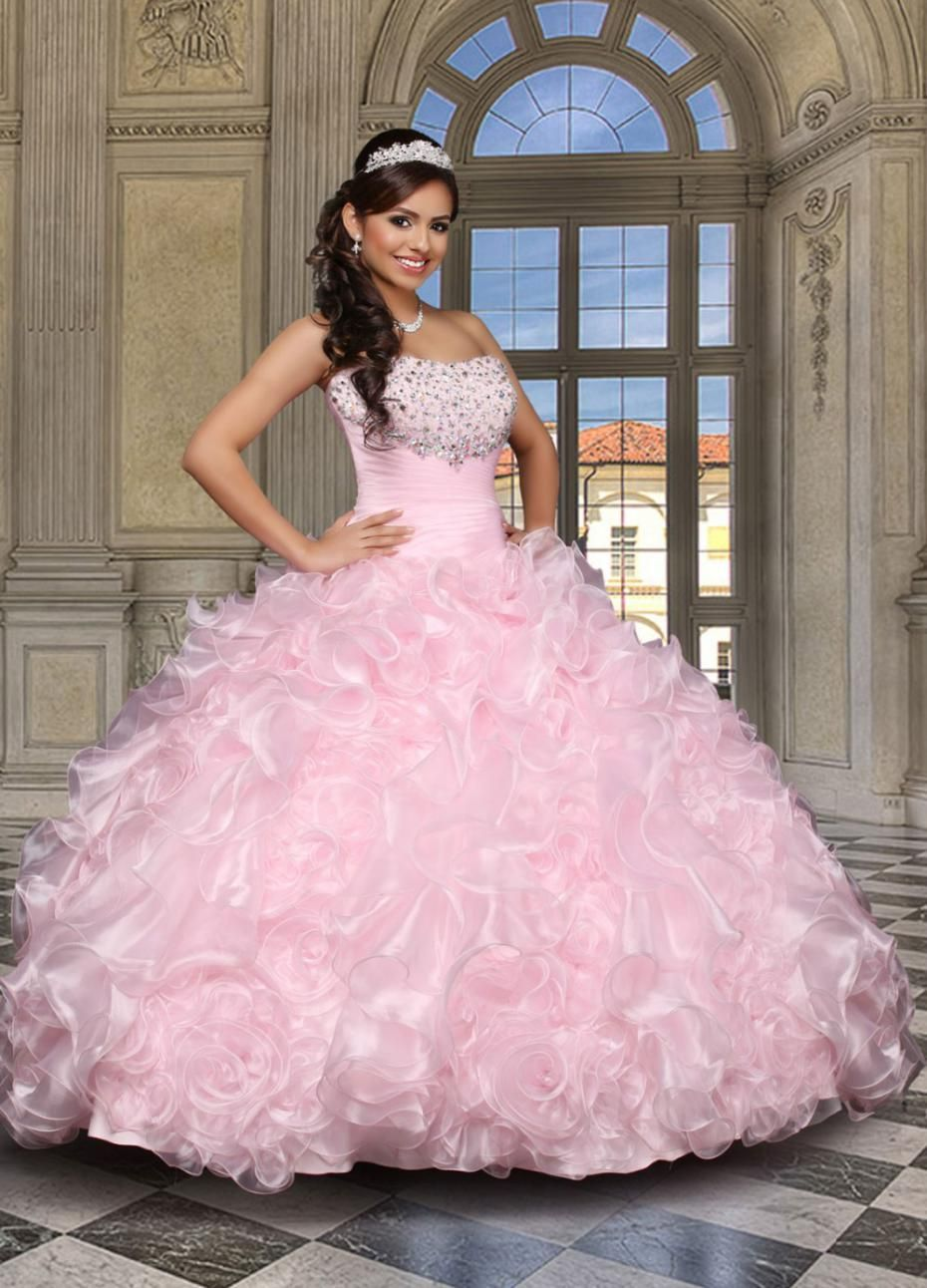 Popular Pink Sweet 16 Dresses-Buy Cheap Pink Sweet 16 Dresses lots ...