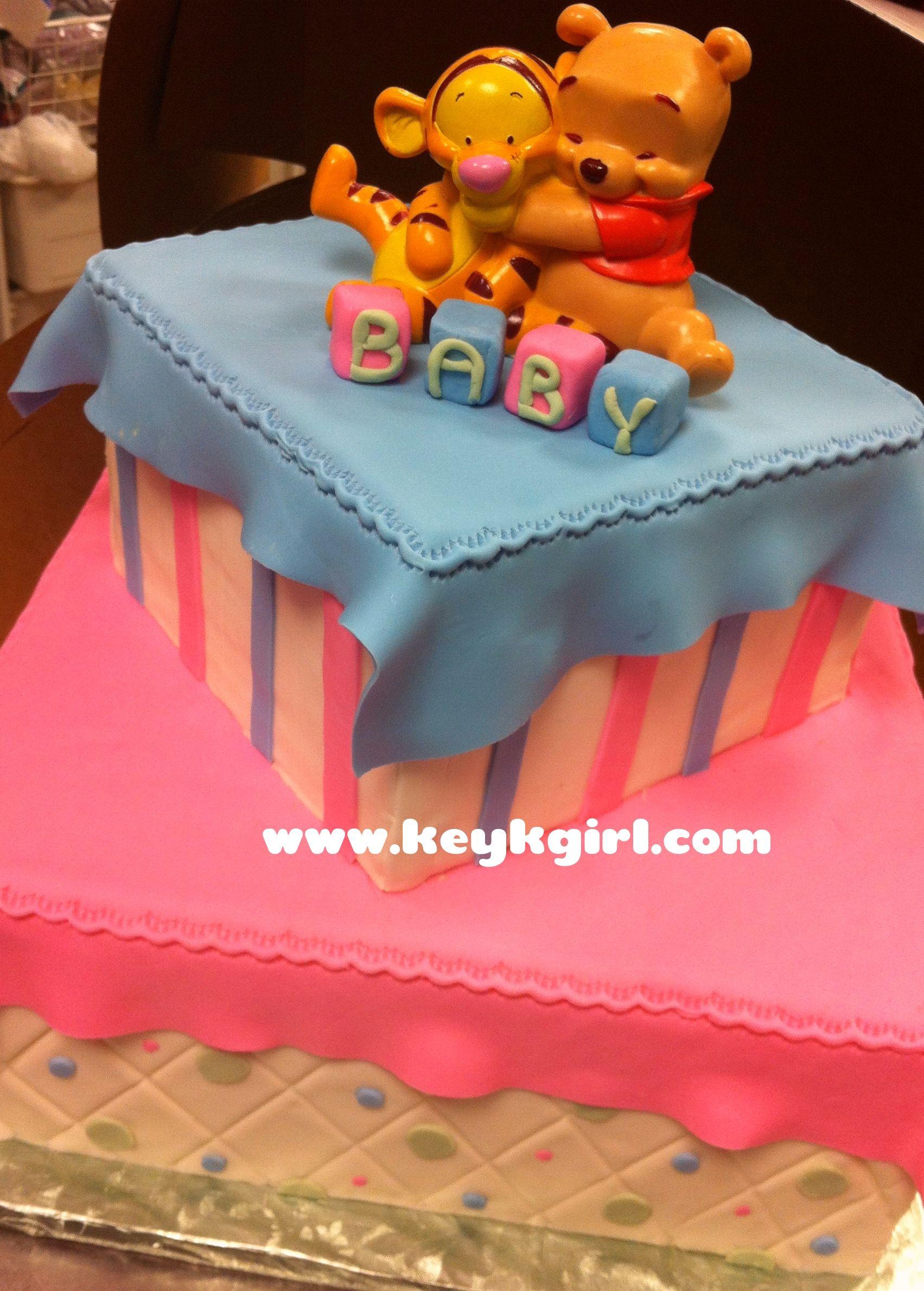 Winnie The Pooh Baby Shower | Winnie The Pooh Baby Shower Cake | Keyks  Bakery In