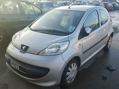 eBay: 2007 PEUGEOT 107 URBAN SILVER 1.0 PETROL CAT C DAMAGED SALVAGE