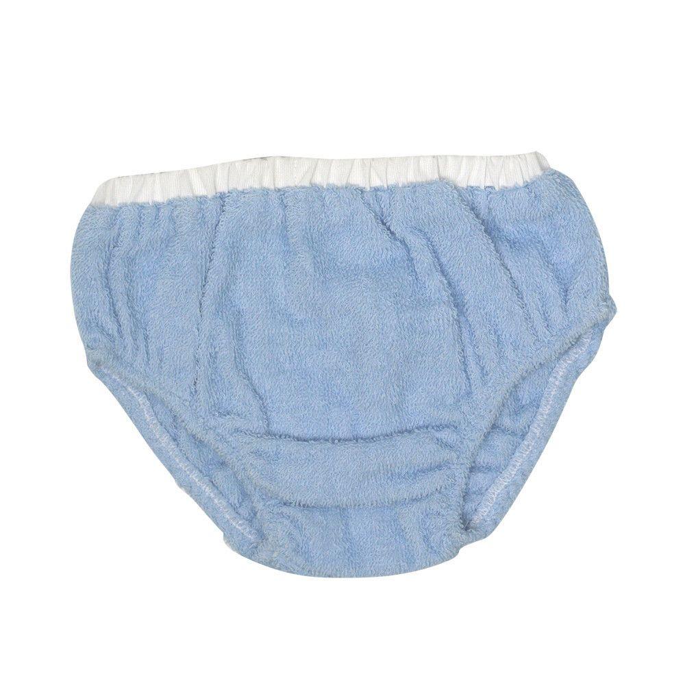 Terry Cloth Beach Bum Cover - Buckhead Blue Terry Cloth with Worth Ave. White Pique | $25