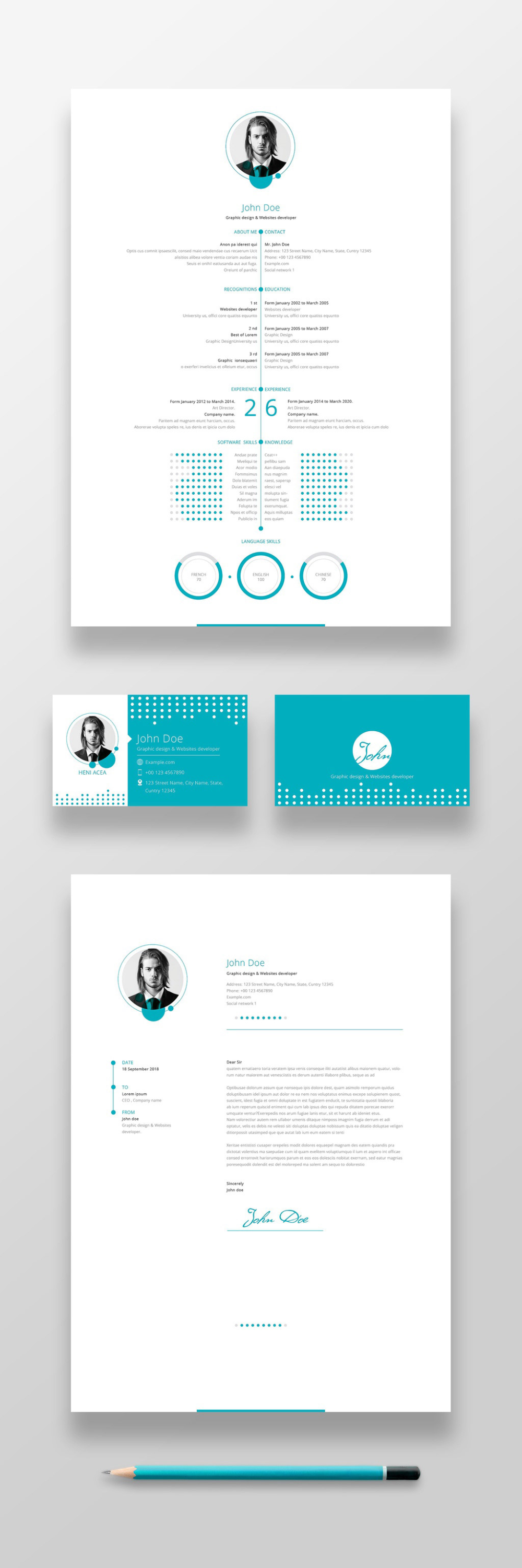 Top Ten Cv And Resume Templates For Creatives Business Cards Layout Business Card Stock Templates