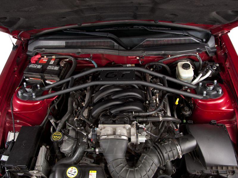 Sr Performance Mustang Black Strut Tower Brace 383959 05 14 Gt V6 The Struts Black Mustang Mustang