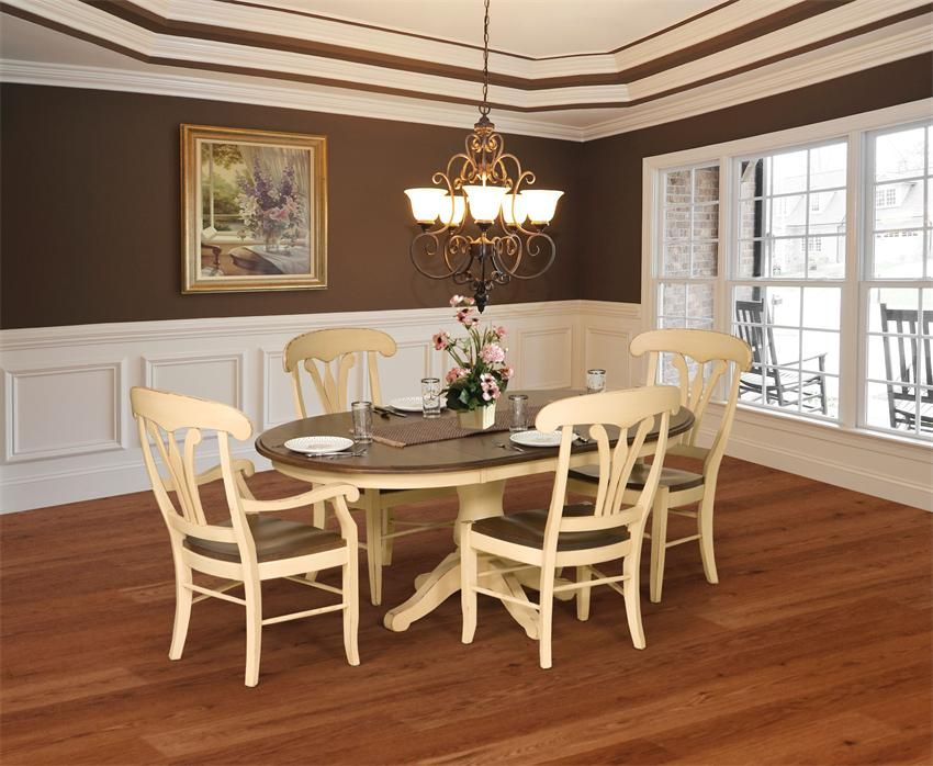 Amish Provence French Country Dining Chair Decorating Tips