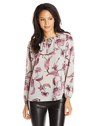 BB Dakota Womens Dasia Printed CDC Shirt Multi Small ** You can get more details by clicking on the image.