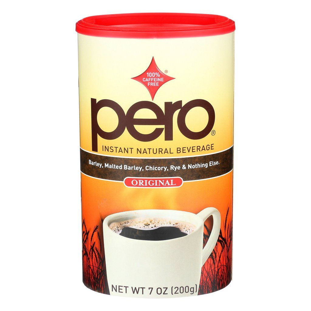 Pero coffee substitute is a 100 percent natural caffeine